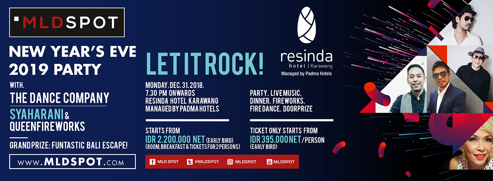 NEW YEAR'S EVE 2019 PARTY | LET IT ROCK!
