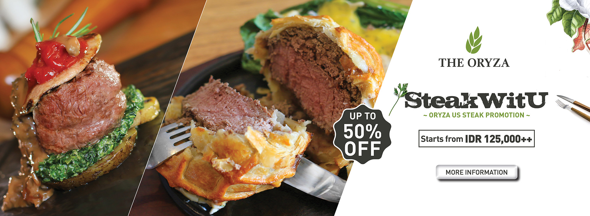 Oryza US Steak Promotion